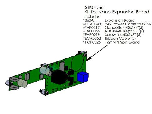 AutoPilot Kit | Nano/Nano+ Expansion PC Board Replacement | STK0156