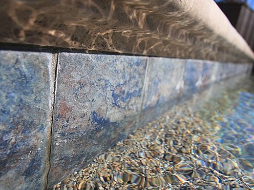 National Pool Tile Aztec 6x6 Series Cobalt Blue Az606