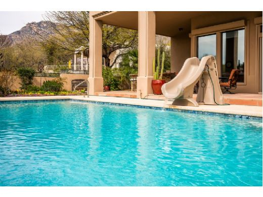 S.R.Smith SlideAway Removable Pool Slide | Gray | 660-209-5820