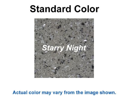 "S.R. Smith Destination Series 30"" Sun Shelf Table   Gunite Anchor Included   Starry Night   WS-30 TABLE-60-C"