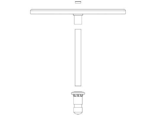"S.R. Smith Destination Series 30"" Sun Shelf Table | Vinyl Liner Anchor Included | Tan | VL-30 TABLE-51-C"