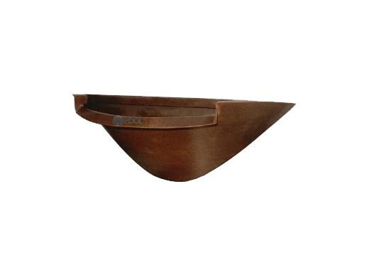 """National Pool Tile 24"""" Wall Mounted Half Bowl 