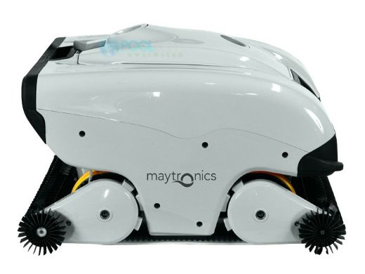Maytronics Dolphin C7 Commercial Class Inground Robotic Pool Cleaner with Remote & Caddy | 99997151-C7