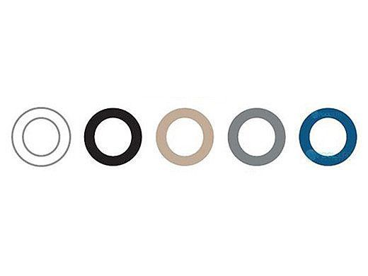 SR Smith Replacement Treo Bezel Rings | 5 Pack | FLED-BR5PK-TR