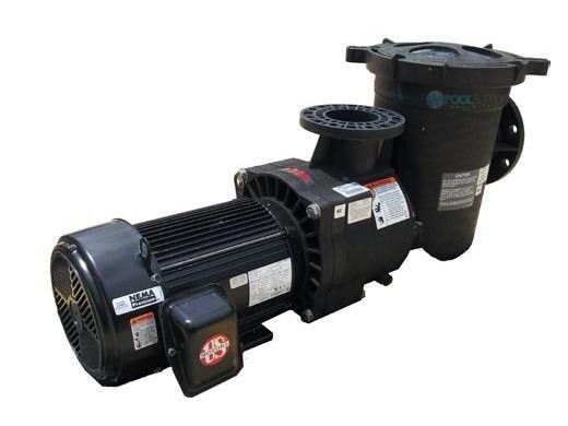 Pentair EQKT1500 Series 15HP TEFC Commercial Pool Pump with Strainer | 3-Phase 208-230/460V | 340607