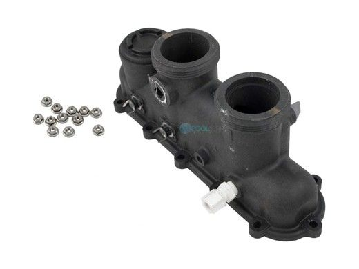 Raypak Polymer Inlet/Outlet Header | 206A 406A | 014648F