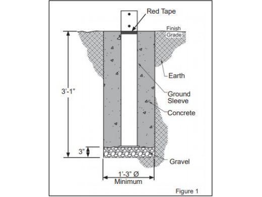 Anchor Industries FUNbrella Classic Permanent Umbrella Shade Structure   20' Round   CLASSIC20