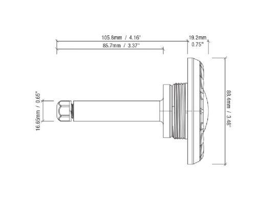 S.R.Smith poolLUX Power Transformer Lighting Control System | 60 Watt 120V | Includes 2 Mod-Lite Pool Lights | 2ML-PLX-PW60
