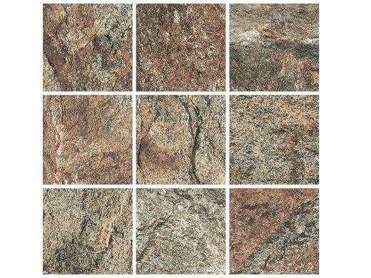 National Pool Tile Firestone 2x2 Series | Multi Color | FRST-MULTI2X2