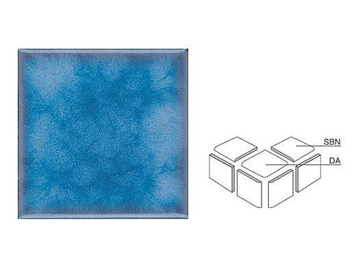 National Pool Tile Akron Field Down Angle Trim | Cloud Blue | KAK325 DA