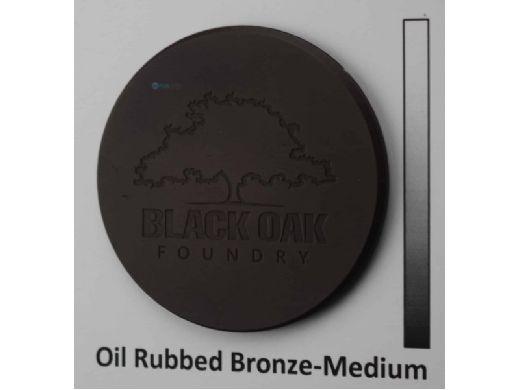 "Black Oak Foundry 24"" Emerald Bowl | Single Scupper | Oil Rubbed Bronze Finish | B331-24-ORB"