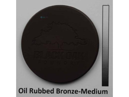 "Black Oak Foundry 32"" Emerald Bowl   Single Scupper   Oil Rubbed Bronze Finish   B331-32-ORB"