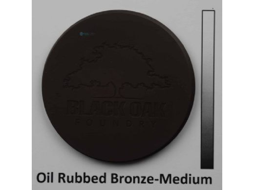 "Black Oak Foundry 24"" Emerald Bowl | Triple Scupper | Oil Rubbed Bronze Finish | B333-24-ORB"