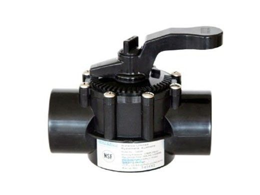 """Waterco FPI Slip Fit Actuated Valve 2 Port with Teflon Seal 