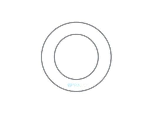 S.R.Smith Fiberglass Trim Ring - Warning Plate   White   FLED-TRW-FG