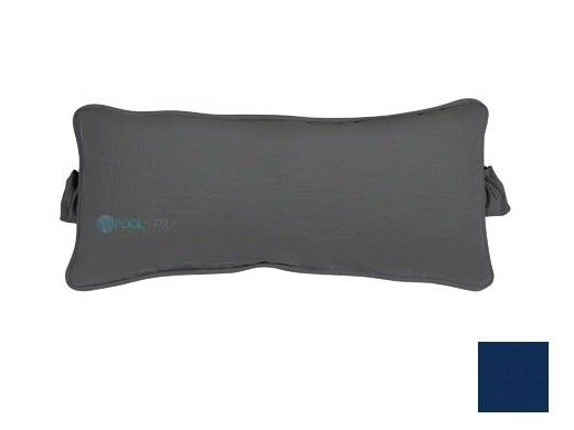 Ledge Lounger Signature Collection Chaise Headrest Pillow | Standard Color Marine Blue | LL-SG-CP-STD-4678