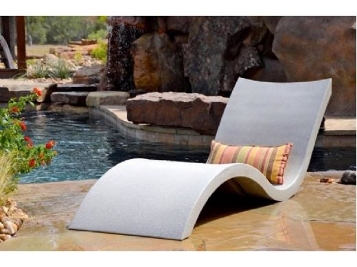 Ledge Lounger Signature Collection Two-Chaise Bundle | White | LL-SG-C-W