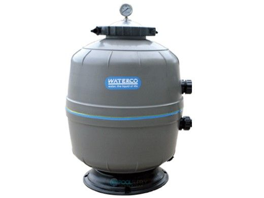 """Waterco Exotuf Plus E500 20"""" Clamp Type Side Mount Sand Filter 