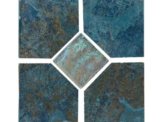 National Pool Tile C 6x6 Deco