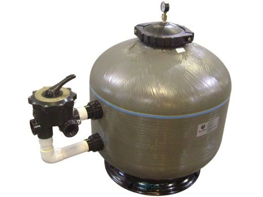 """Waterco HRV 24"""" High Pressure Side Mount Fiberglass Sand Filter with Multiport Valve 