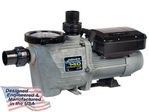 Waterway Power Defender 140 Dual Voltage Variable Speed Pump 1.40HP 115/230V | Controls up to 3 Actuators | PD-140C