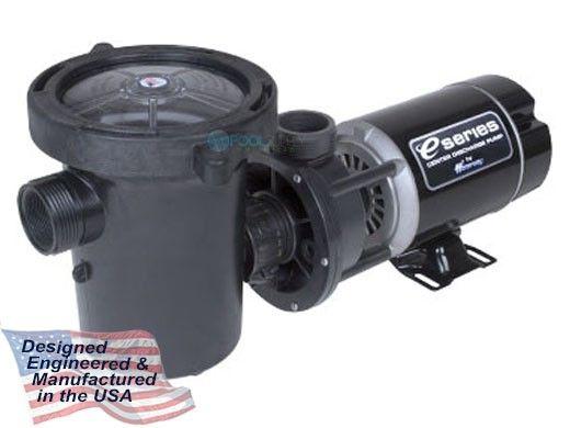 Waterway Center Discharge 48-Frame .5HP Above Ground Pool Pump 115V | 3' Twist Lock Cord | 3410210-1544