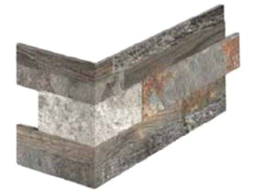National Pool Tile Rockwood Porcelain Tile Corner   Rusty Bark   RKW-BARK CRN