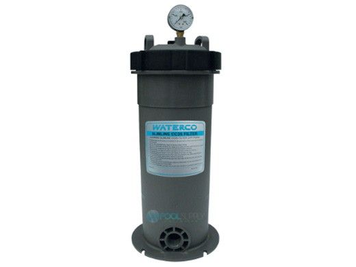 Waterco Slimline CC25 Residential Point of Entry Cartridge Water Filter | 25 Sq. Ft. 25 GPM | 4555252NA