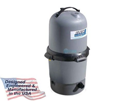 Waterway ClearWater II D.E. Filter | 12 Sq. Ft. 44 GPM  | FD12-7