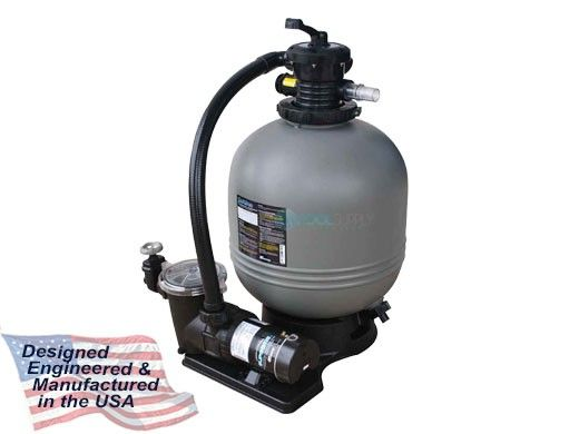 """Waterway Carefree Above Ground Pool 26"""" Top Mount Sand Deluxe Filter System 