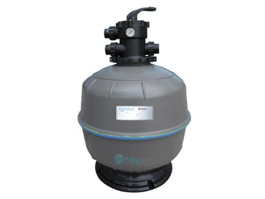 """Waterco Exotuf E600 24"""" Top Mount Sinking Bead Sand Filter with Multiport Valve 