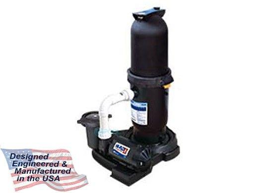 Waterway CSA ProClean Plus Inground Pool Single Cartridge Filter System | 1HP Hi-Flo II Pump 100 Sq. Ft. Filter | 520-6100-C25S