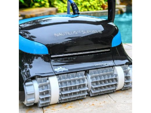 Maytronics Dolphin Nautilus CC Supreme Robotic Pool Cleaner with WiFi | 99991083-PC