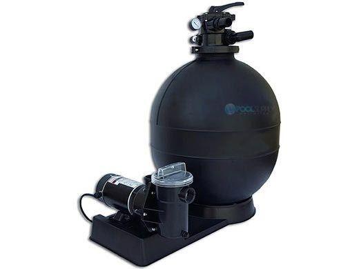 "CaliMar® Above Ground Pool Sand Filter System   13"" Filter .75 HP Pump   5-1735-002"