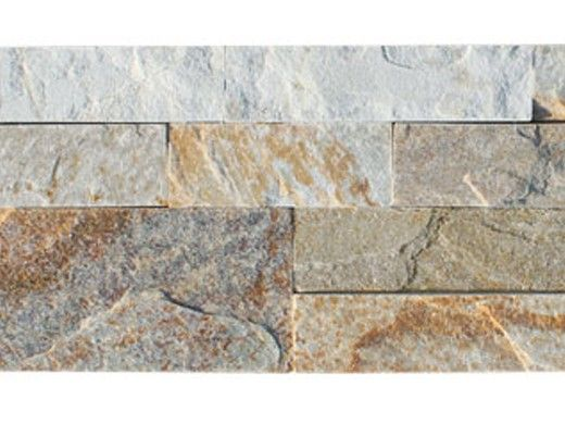 National Pool Tile Natural Ledgerstone 6x16 Corner | Sahara Sand | LDGR-SAND CRN