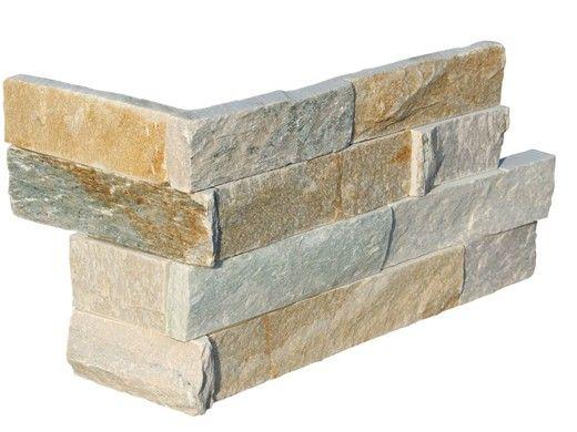 National Pool Tile Natural Ledgerstone 6x16 Corner | Classic | QRZT-LEDGER CRN