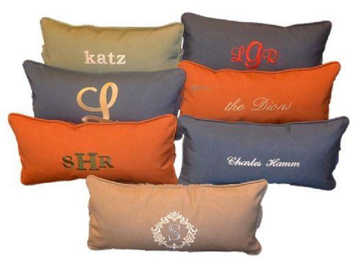 Ledge Lounger Signature Collection Chaise Headrest Pillow | Stock Color Cadet Grey | LL-SG-C-P-STD-4630