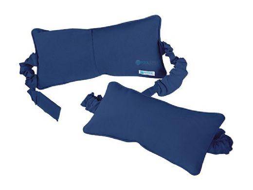 Ledge Lounger Signature Collection Chaise Headrest Pillow   Stock Color White   LL-SG-C-P-STD-4634