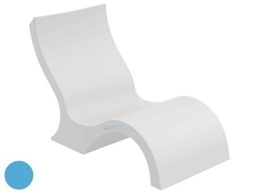 Ledge Lounger Signature Collection Lowback Chair | Light Blue | LL-SG-LBCR-LB