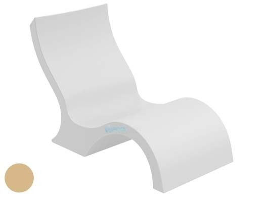 Ledge Lounger Signature Collection Lowback Chair | Tan | LL-SG-LBCR-T