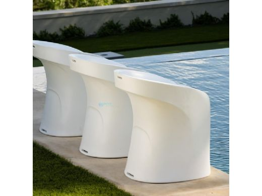 """Ledge Lounger Signature Collection Barstool   Counter Height - Seat Height 17.5""""   Sandstone   LL-SG-BS30-SS"""