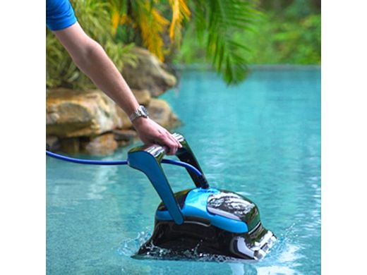 Maytronics Dolphin Nautilus CC Supreme WiFi Connected Robotic Pool Cleaner with Caddy | 99991083-CADDY