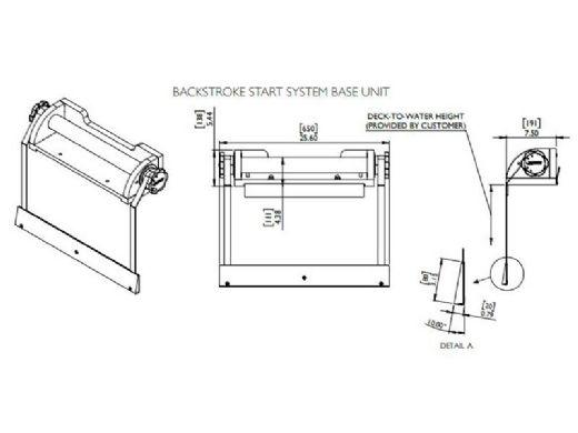 S.R. Smith Backstroke Start System & Trainer   BSS1000