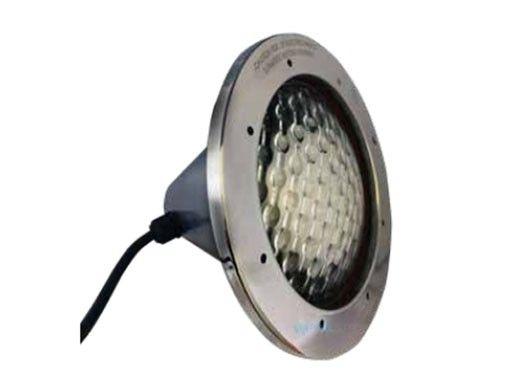 J&J Electronics Incandescent Inground Pool Light Fixture | 300W 12V 100' Cord | TPL-P12-300-100
