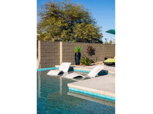 SR Smith Destination Series In-Pool Lounger | Set of 2 | Seashell | DS-1-61-2PK
