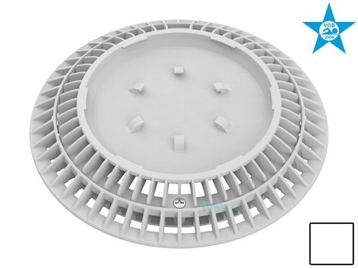 """AquaStar 8"""" Round Color Choice Suction Outlet Cover with Screw Kit 