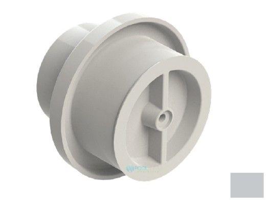 "AquaStar Light Niche/Return Fitting with Cap   Fits Inside 2"" Pipe   Light Gray   3703-CS"
