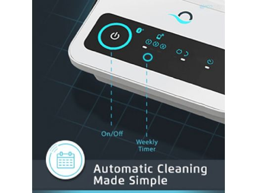 Maytronics Dolphin Triton PS Plus Bluetooth Connected Robotic Pool Cleaner with PowerStream | 99996212-USW