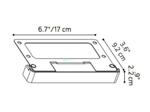 FX Luminaire LouverFenetre LED Wall Light | Zone Dimming 1LED 2700K | Antique Bronze on Cooper | LF-ZD-1LED-W-CUAB