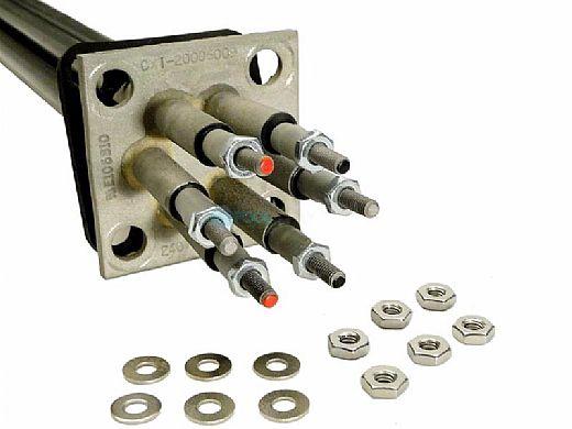 Coates Heater 12kW Element 240V with 4-Bolt Flange & Gasket   20006009